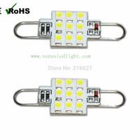 Wholesale Smd Festoon Light - LED Car Bulbs Festoon Light Soure Rigid Loop RL4410 9 12 SMD 3528 12V 24V DC Bulb