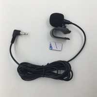 Wholesale computer car radio - Professionals Car Audio Microphone 3.5mm Jack Plug Mic Stereo Mini Wired External Microphone for Auto DVD Radio 3m Long