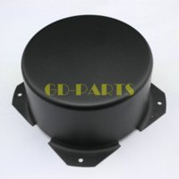1PC 140 * 65mm Black Round Round Transformer Cover Enclosure Vintage Tubo Amps DIY tubo amplificador tubos tube amp kit
