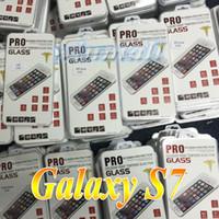 filme galaxy grand venda por atacado-Para samsung galaxy s7 vidro temperado 2.5d filme protetor de tela para lg g4 stylus iphone 5se iphone 6 s nota 5 grand prime