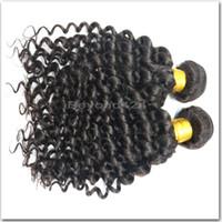 Wholesale Mongolian Deep Curly Hair 5a - 5A Grade Brazilian Deep Curly Virgin Hair Unprocessed Brazilian Deep Wave 4 Bundles Brazilian Curly Hair Cheap Human Hair