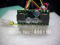 Wholesale Dc Atx Power Supply - Wholesale-FREE SHIPPING DC INPUT 75W MINI DC-DC ATX POWER SUPPLY FOR atom CPU motherboard