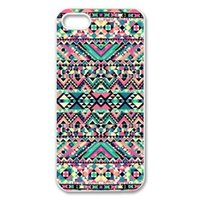 Wholesale Iphone 4s Cover Colour - Wholesale Bright Colour Africa Tribe Design Hard Plastic Mobile Phone Case Cover For iPhone 4 4S 5 5S 5C 6 6plus