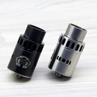 Wholesale alliance metal - Alliance RDA Atomizers Replacement Coil Wide Bore Drip Tip Adjustable Airflow Stainless Steel Tank With Gift Box DHL Free ATB432