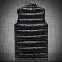 Wholesale Mens Sleeveless Jackets - Fall-Thicken Outdoor Sport Suit 2015 Luxury Brand sleeveless winter jacket men parka snow down & Parkas man puffer jacket mens coats
