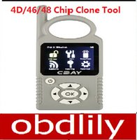 volvo anahtar klonlaması toptan satış-Yeni 4D Klon Aracı CBAY El-held Araba Anahtarı Fotokopi Oto Anahtar Programcı için 4D / 46/48 Çip 4D Klon Aracı Hızlı Ücretsiz Kargo