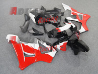 2014 Hot Red White Verkleidung Karosserie Kunststoff Kit Set CBR900RR CBR929RR 2000-2001 053