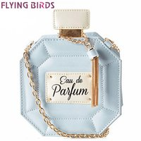 blue bottle fly - FLYING BIRDS women bag chain bags perfume bottle women messenger bags handbag party purse evening bag quality pouch LS4386fb