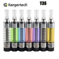 Wholesale Ego T3s Clearomizer - 100% Original Kanger T3S atomizer kangertech Bottom coil 3.0ml clearomizer for 510 ego thread battery