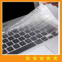 Wholesale Transparent Laptop Covers - TPU Crystal Keyboard Skin Protector Case Cover Ultrathin Clear Transparent For MacBook Air Pro Retina 11 13 15 inch EU US Retail package