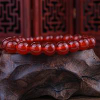 Wholesale Genuine Crystal Bracelets - Genuine natural red agate bracelet female crystal red agate bracelet Wholesale Valentine star with money to send his girlfriend