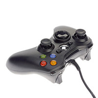 Wholesale computers laptops accessories online - Shock Game Controller Gamepad USB Wired PC Joypad Joystick Accessory For Laptop Computer PC Game Consoles
