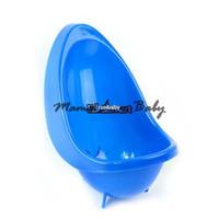 Wholesale Kids Toilet Trainer - Hot Sale 5pcs lot Baby Potty Urinal Toilet Children Boy Bathroom Pee Trainer Kids Urinal Plastic For Boys Pee 5 Colors 18261