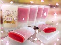 Wholesale Deodorant Packaging - Wholesale- Free Shipping 12Pcs Lot 15ML Empty Lip Blam Tube Bottle Package Sample Plastic Deodorant Bottle