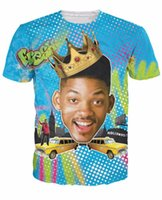 Wholesale Bel Sports - tshirts Summer Style So Fresh Will Smith T-Shirt Sexy tee Fresh Prince of Bel Air 3d t shirt Sport tshirt for women men tops