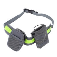 Wholesale Running Water Bottle Belt - Soft Running Leash for Pets Dogs Elastic Hands-free Waist Belt Strap Traction Rope with Water Bottle Holder + Dog Treats Bag H15373
