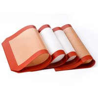 Wholesale Silicone Baking Sheet Mat Non Stick Baking Liners inch by inch
