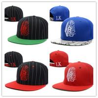 siyah yılan derisi el feneri kapağı toptan satış-Toptan Satış - Toptan-100 stilleri Yeni Stil Last Kings Snakeskin Strapback Şapkalar Kırmızı siyah Gri Moda Hip Hop LK SnapBack Caps Sun Hat ucuz kap
