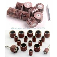 Wholesale Disc For Grinding Wheel - 70pcs sandpaper grinding wheel dremel tools dremel accessories rotary tool abrasive sanding paper polishing for woodworking disc