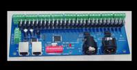 dmx512 decoder dmx led kontrolör toptan satış-Dmx 512 kanal / 27 kanal Kolay DMX LED kontrol dekoder dmx512 dekoder controlador dmx konsolu tüm ücretsiz kargo