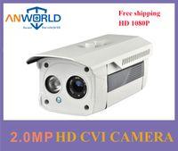 Wholesale Long Distance Security Cameras - Dahua oringinal chipset HDCVI camera 1080P 2.0MP dahua case metal bullet perfect infrared night vision long IR distance CCTV security camera