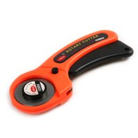 Wholesale Rotary Cutter For Fabric - 45MM Round Wheel Knife Rotary Cutter DIY TOOL for Leather Craft Cloth Fabric