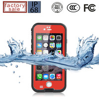 Wholesale Galaxy S4 Case Water Proof - redpepper Waterproof Case For Iphone 4 4S 5 5S 5C 6 6+ Plus Samsung Galaxy S3 S4 Note 2 3 4 Water Shock proof Case DHL