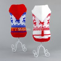 Wholesale Teddy For Sale - Wholesale-Hot sale free shipping pet dog sweater dog clothes for winter autumn warm fashion teddy chihuahua clothes wholesale tops