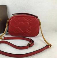 Wholesale Heart Shape Shoulder Bags - freeship 2018 newest stlye famous brand Most popul luxury handbags women bags designer feminina small bag the back has a heart shape