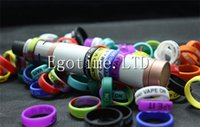 Wholesale Mechanical Finger Ring - Hot Silicone Ring anti-slip silicon finger vape band beauty covering rubber ring for mechanical mod e cig accessories RDA RDA
