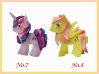Wholesale Minions Ribbon - Fashion Hair Ribbons Free Shipping 20pcs New Style Princess Blessing Good Girl Headwear Little Pony Minions Hippopotamus Robot Monst