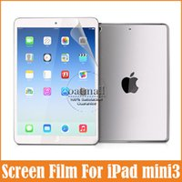 Wholesale-10pcs / lot Premium HD claro transparente para Apple iPad Mini 3 Protectores de pantalla de Cine de Protección Para iPad Accesorios escudo MINI3