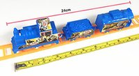 Wholesale Toy Electric Rail Set - IN stock Rail car small train children Thomas rail car toys car electric assembly wholesale supply retail free shipping free shipping