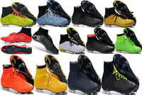 Wholesale Cheap Ronaldo Football Boots - 100% original quality 2015 new mens Mercurial Superfly FG CR7 Cristiano Ronaldo Soccer Cleats Cheap Football Boots Firm Ground Soccer shoes