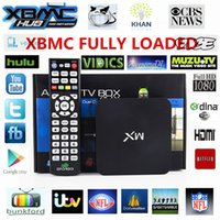 ¡Original! XBMC totalmente cargado MX TV Box Android 4.2 de doble núcleo 1G + 8G Amlogic 8726 A9 HDMI WiFi DLNA Google Smart Mini PC MX2 GBOX