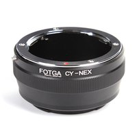 Wholesale Nex Lens Adapters - For Contax Yashica C Y Mount Lens To Sony E NEX-3 NEX-5 NEX-7 EX-5N Adapter
