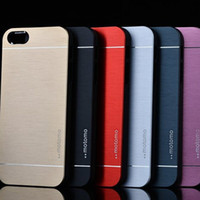 Wholesale Metal Case S3 Brushed - Motomo Brush Case for iphone 6 plus S6 G9200 S3 S4 S5 Note 4 3 Aluminium Alloy Metal & PC