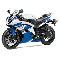 Wholesale Injection Fairings For Yamaha YZF600 R6 YZF R6 ABS Motorcycle Fairing Kit White Blue Carene Body Kit