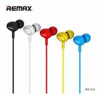 Wholesale high performance microphone for sale - Group buy Remax RM RM In Ear Music Earphone High Performance Stereo Headset mm Aux With Mic Button Control for iPhone Samsung