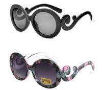 óculos de sol de criança de qualidade venda por atacado-2016 novas crianças Óculos De Sol Sunblock Rodada Óculos Retro moda nuvens óculos de sol crianças yurt óculos de sol de alta qualidade