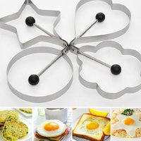 Wholesale Garlic Keepers - Stainless Steel Fried Egg Mold Pancake Mold Kitchen Tool Pancake Rings Cooking Egg Mold order<$18 no tracking