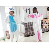 pyjama-kapuzenpulli großhandel-Neue Einhorn Pyjama Kawaii Onesie Anime Hoodie Pyjamas Cosplay Für Holloween Weihnachtsfeier
