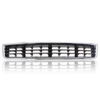 Wholesale Audi A4 B6 Grill - Chrome Front Bumper Center Lower Grille Grills for Audi A4 B6 Sedan 2002-2005 Free shipping order<$18no track