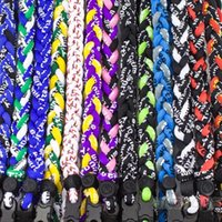 Wholesale Rope Necklace For Men Baseball - Wholesale-Titanium Ionic Sports Baseball Necklace 16 18 20 22 inch 3-rope Tornado Braid For Women Men Trendy Items Wholesale 0078