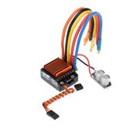 Wholesale Rc Car Esc Combo - SkyRC 13.5T 2590KV 2P Sensorless Brushless Motor+CS60 60A Sensorless Brushless ESC+LED Program Card Combo for 1 10 1 12 RC Car