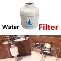 Wholesale Shower Head Water Filters - Universal Removable Healthy Bathroom Kitchen Bath Shower Head In-Line Faucet Clean Water Tap Softener Chlorine Filter Purifier