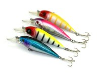 HENGJIA 4 Colori 4 Pz / lotto Lunghezza 8.5 CM Peso 11G Richiamo di Pesca Esca Dura Minnow Wobbles Artificiale Vivid Nuoto Lure Tackle