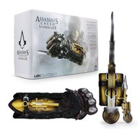 Wholesale Action Figure Weapons - NECA Assassin's Creed Syndicate Hidden Blade Jacob Frye Weapon Cosplay 1:1 Boxed PVC Action Figure Model Toy