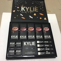 Stock 2017 Nuovo Kylie Jenner Lipkit Fall Matte Liquid Lipstick kylie Christmas Collection confezione regalo Big Box Spedizione gratuita