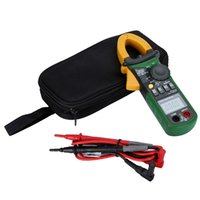 Wholesale Digital Multimeter Automatic - MS2108A Multimeter LCD Clamp Meters with Backlight & Bar Graph Automatic Electrical Instruments AC DC Digital Capacitance Tester